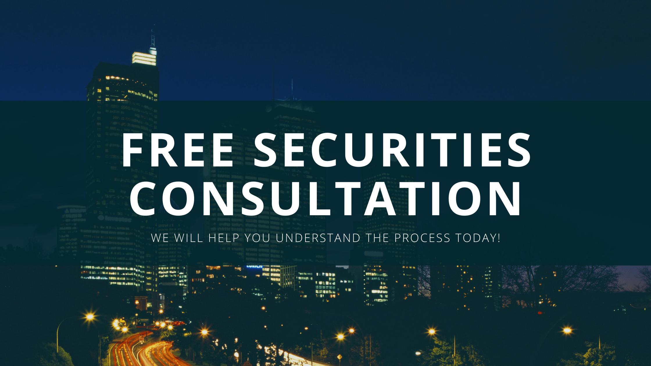 free securities consultation